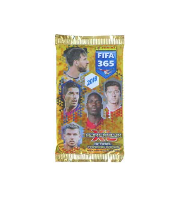 Panini FIFA 365 2018 Adrenalyn XL Booster