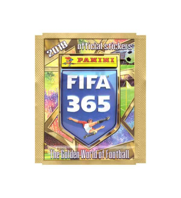 Panini FIFA 365 2018 Sticker Packet