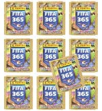 Panini FIFA 365 2018 Stickers - 10 Packets