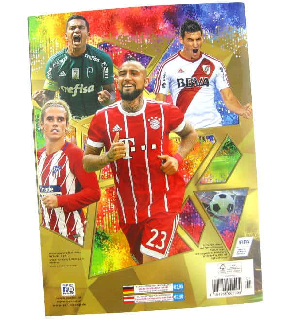 Panini FIFA 365 2018 Stickers Album Price