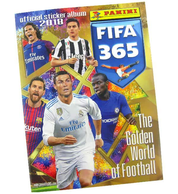 Panini FIFA 365 2018 Stickers Album