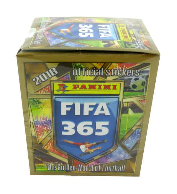 Panini FIFA 365 2018 Stickers Box