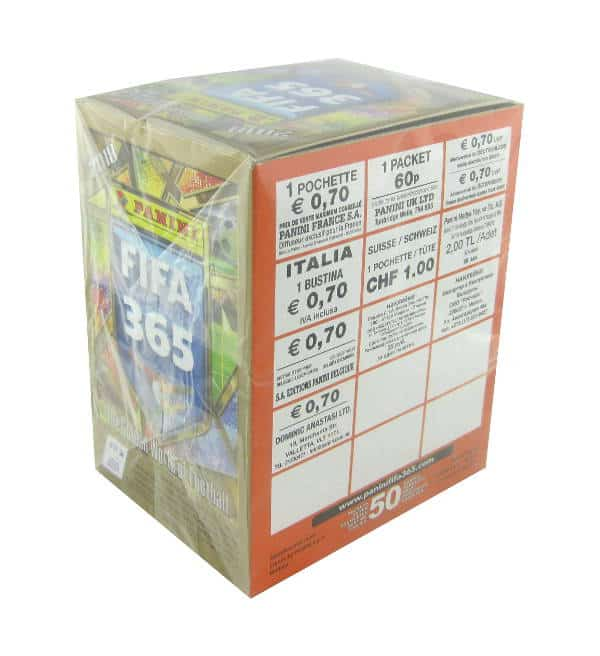 Panini FIFA 365 2018 Stickers Display Price