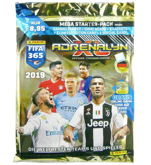 Panini FIFA 365 2019 Adrenalyn XL Starter Pack
