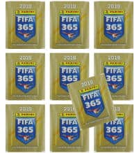 Panini FIFA 365 2019 Stickers - 10 Packets