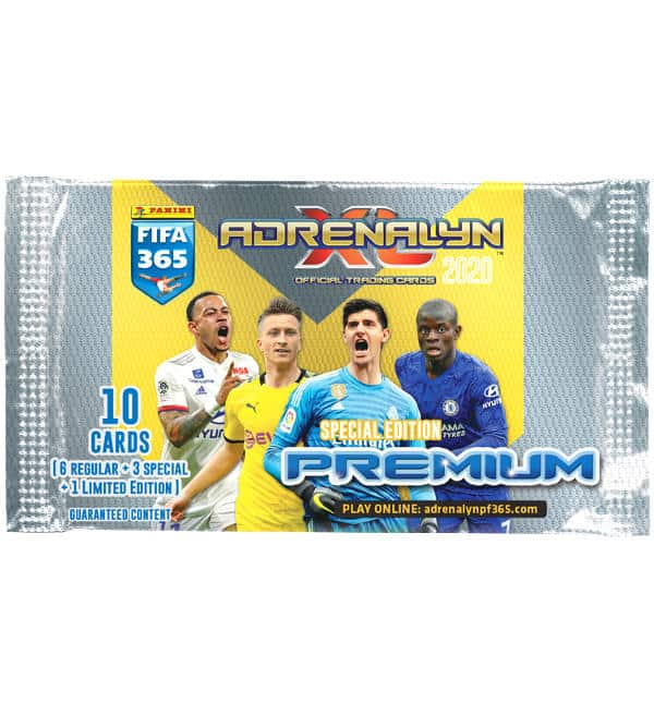Panini Adrenalyn XL fifa 365 2020 Pocket Mini Tin box incl 1 X Limited Edition