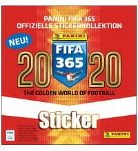 Panini FIFA 365 2020 Stickers Box With 50 Packets