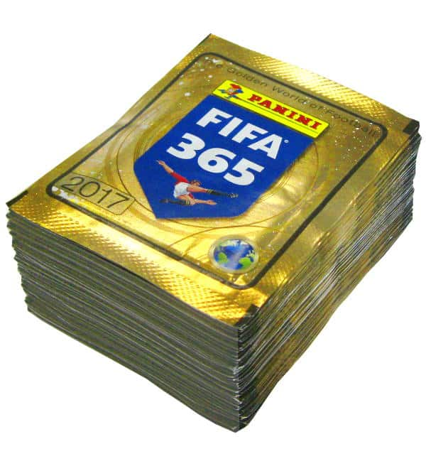 Panini FIFA 365 Stickers 2017 - 50 Packets
