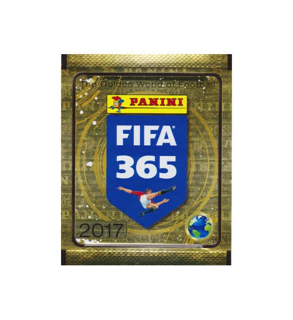 Panini FIFA 365 Stickers 2017 - packet gold