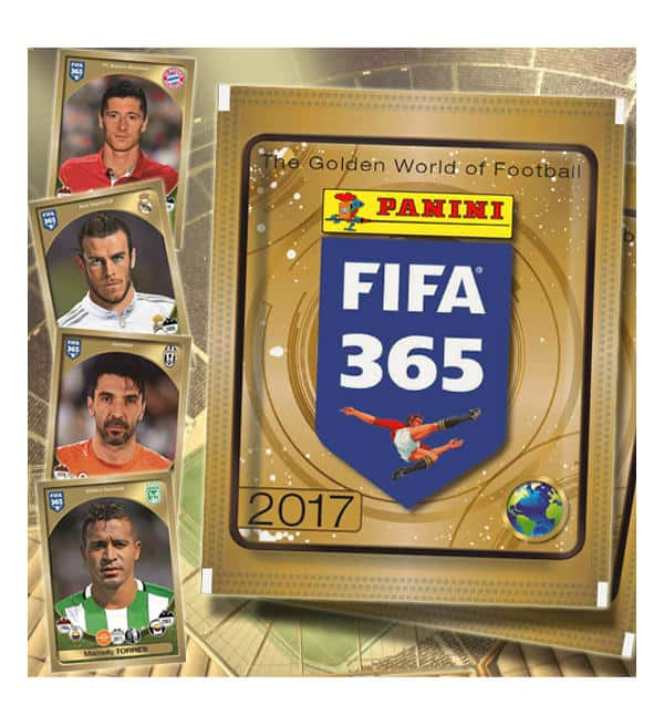 Panini FIFA 365 Stickers 2017 Packet