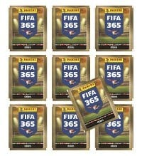 Panini FIFA 365 Sticker - 10 Packets