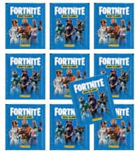 Panini Fortnite Stickers - 10 Packets