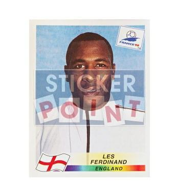 Panini World Cup France 98 Sticker 478 Les Ferdinand Front