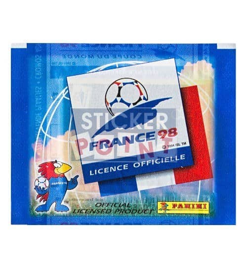 Panini World Cup France 98 1 Sticker-Packet Front