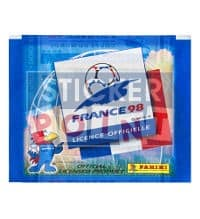 Panini World Cup France 98 Packet - Unopened With 5 original Stickers