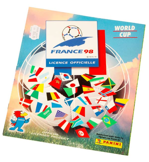 Panini France 98 Album World Cup 1998 Front