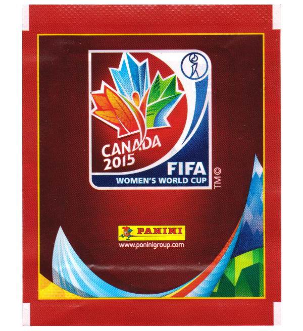 Panini WC Canada 2015 Sticker Packet