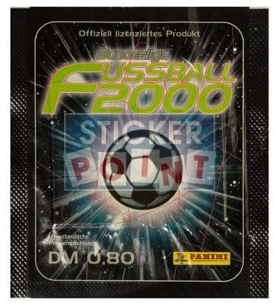 Panini Fussball 2000 Packet Front