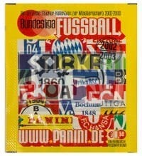 Panini Fussball 2002-2003 Packet - Unopened With Stickers