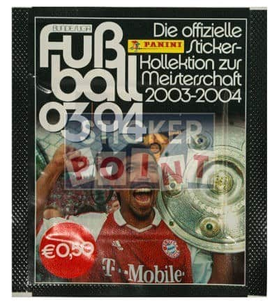 Panini Fussball 2003-2004 Packet Version Elber Front