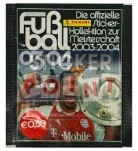 Panini Fussball 2003-2004 Packet - Version Elber Unopened