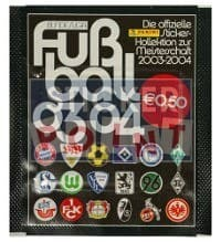 Panini Fussball 2003-2004 Packet - Version Logos Unopened