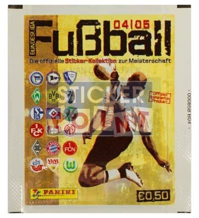 Panini Fussball 2004-2005 Packet Front