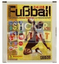 Panini Fussball 2004-2005 Packet - Unopened With Stickers