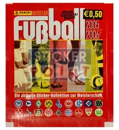 Panini Fussball 2005-2006 Packet Front
