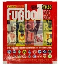 Panini Fussball 2005-2006 Packet - Unopened With Stickers