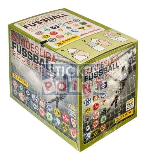 Panini Fussball 2006-2007 Box Display Front