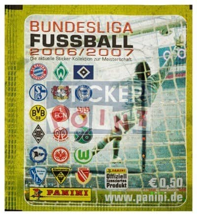 Panini Fussball 2006-2007 Packet Front