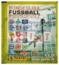 Panini Fussball 2006-2007 Packet - Unopened With Stickers