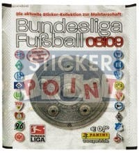 Panini Fussball 2008-2009 Packet - Unopened With Stickers