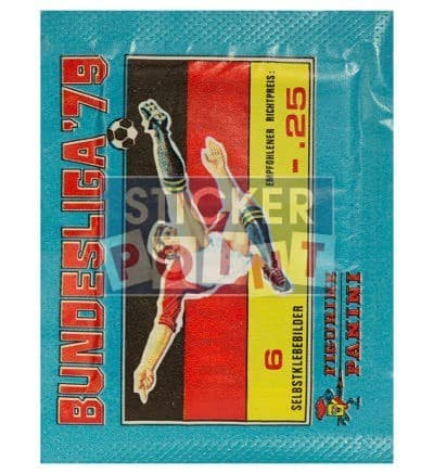 Panini Fussball 79 Packet Front