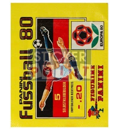 Panini Fussball 80 Packet Front