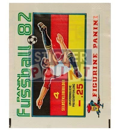 Panini Fussball 82 Packet Front
