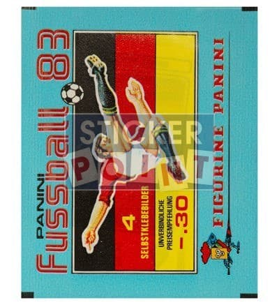 Panini Fussball 83 Packet Front