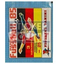 Panini Fussball 85 Packet - original With 3 Stickers