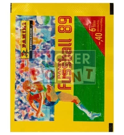 Panini Fussball 89 Packet Front
