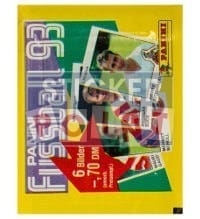 Panini Fussball 93 Packet - original With 6 Stickers
