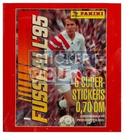Panini Fussball 95 Packet Front