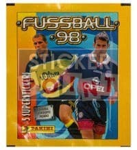 Panini Fussball 98 Packet - original With 5 Stickers