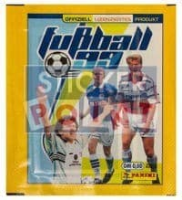 Panini Fussball 99 Packet - original With 5 Stickers