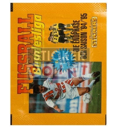 Panini Fussball Endphase 94 / 95 Packet Front