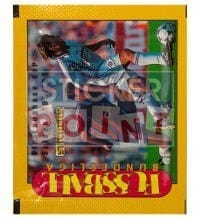 Panini Fussball Endphase 95 / 96 Packet With Stickers