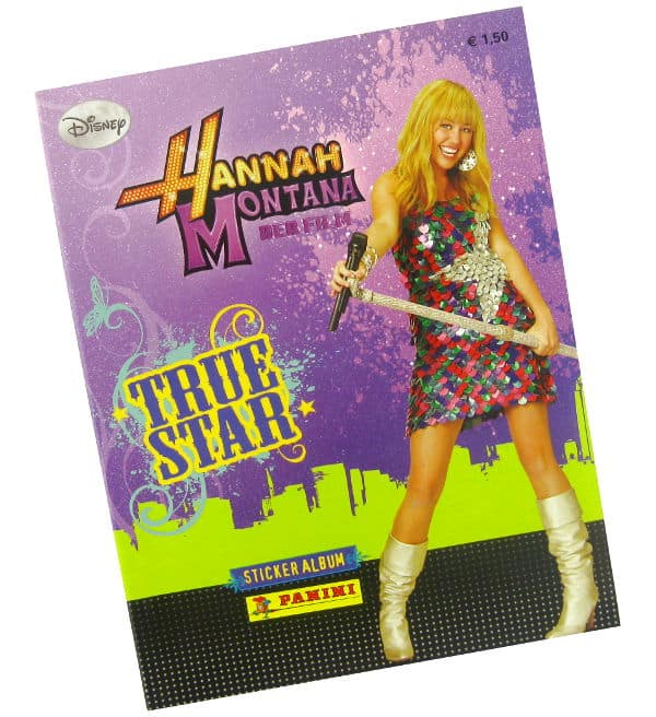 Panini Hannah Montana True Star Album