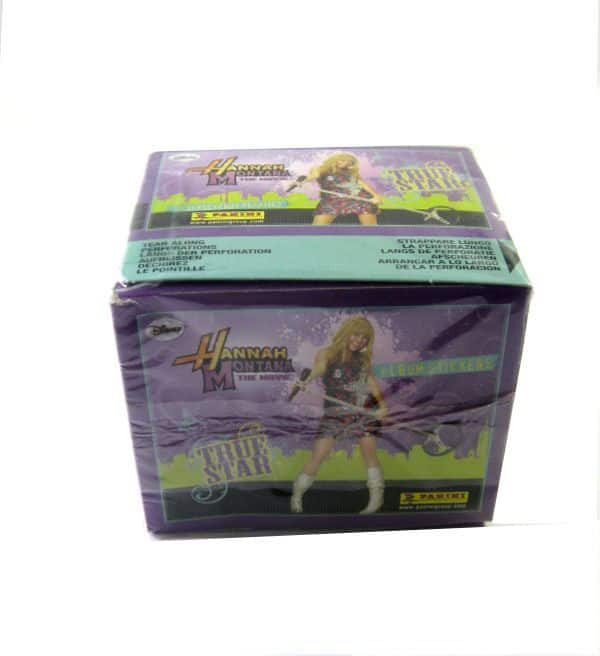 Panini Hannah Montana True Star Display - Box Sideview
