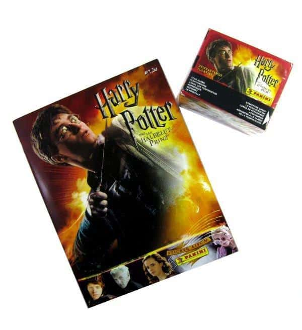 Panini Harry Potter Half-Blood Prince Album & Display