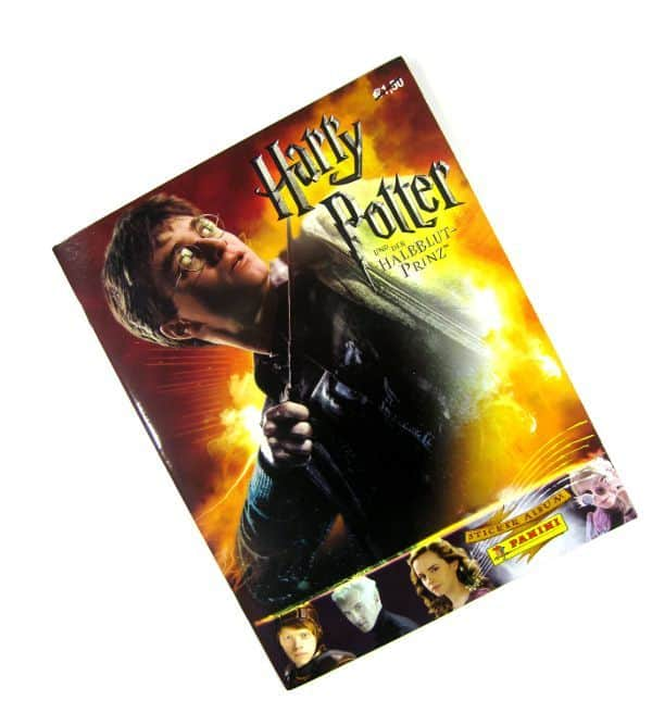 Panini Harry Potter Half-Blood Prince Album